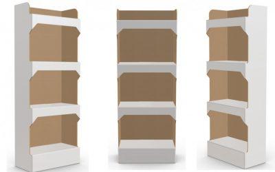 Quels sont les avantages des présentoirs en carton?